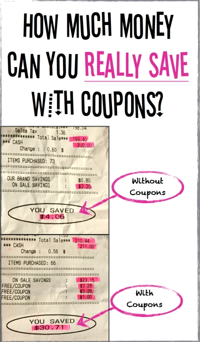 How much money can you realistically save on groceries using coupons?