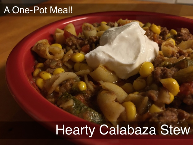 hearty calabaza stew