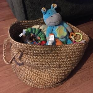 soft woven basket