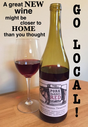 support local wine