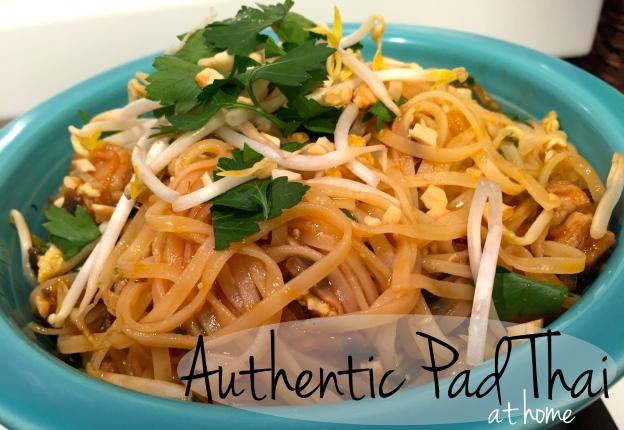 Authentic Pad Thai Noodles at Home