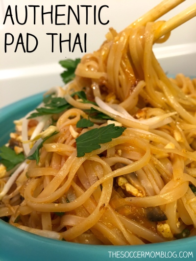 Authentic Pad Thai Noodle Recipe